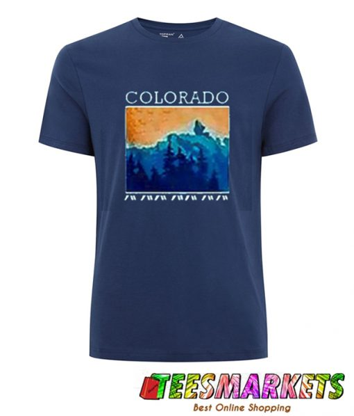 Colorado in Blue T-Shirt