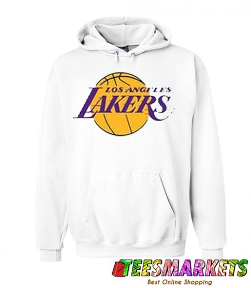 Los Angeles Lakers White Hoodie