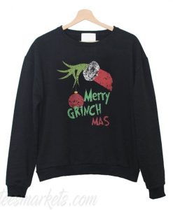 Merry Grinch Mas Sweatshirt