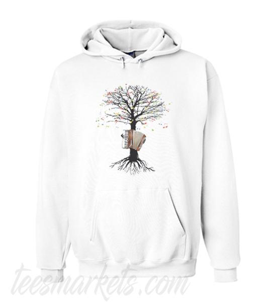 Accordion Musical Tree Hoodie