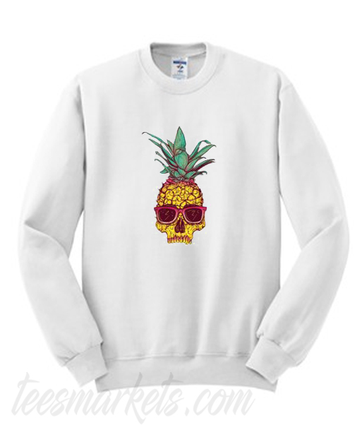 Pineapple Skull Sweatshirt