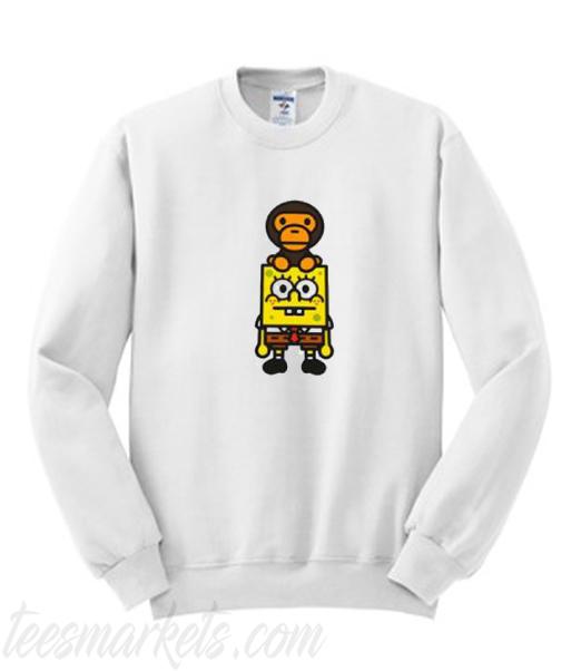 Spongebob Monkey Sweatshirt