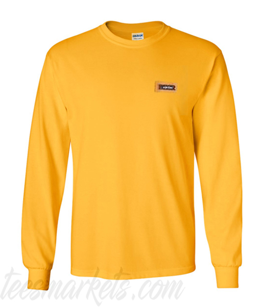 Yellow Pullovers Sweatshirt