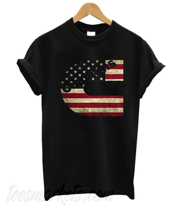 Cummins America Flag New  T-shirt