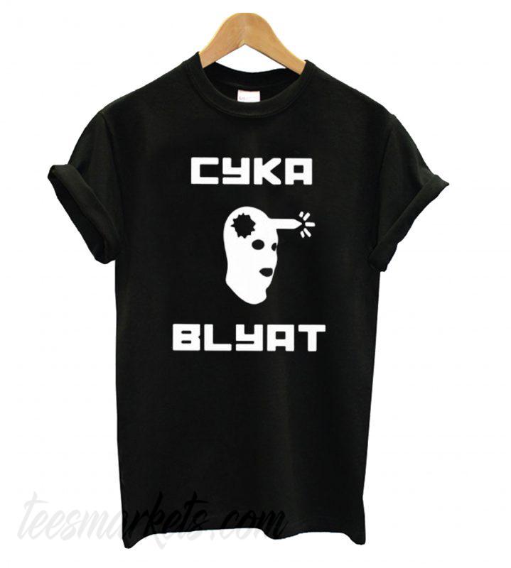 Cyka Blyat Black New  T shirt