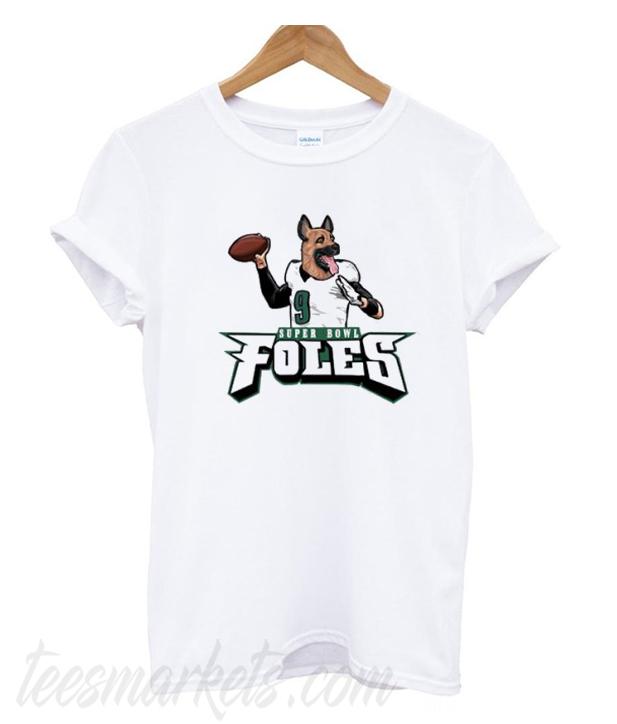 newest fac40 98779 Super Bowl Nick Foles New T-Shirt