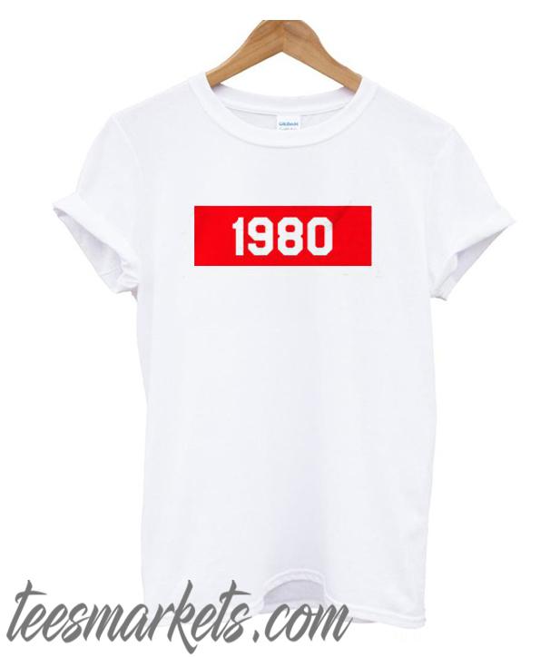 1980 New T-Shirt