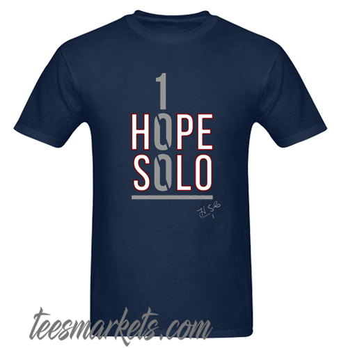 1 Hope Solo New T shirt