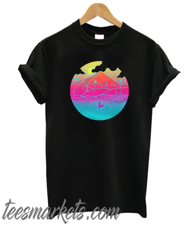 Tropical Island Summer Beach Whale New T-Shirt