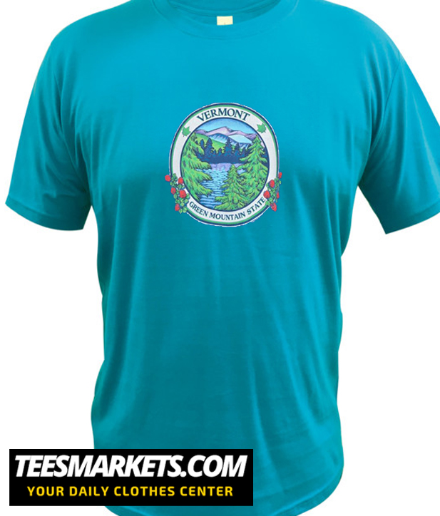 90s Vermont Green Mountain State New  t-shirt