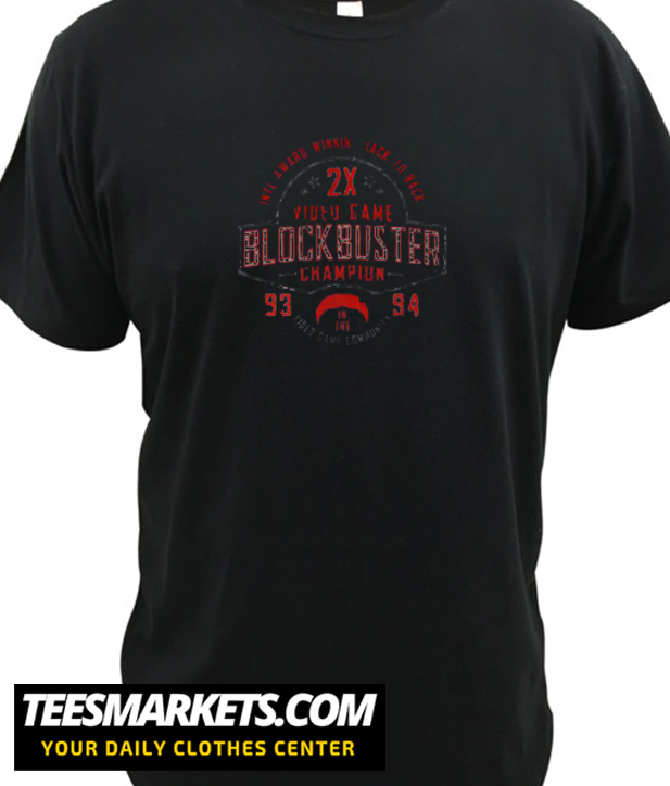 93 94 Blockbuster Champion New  T shirt