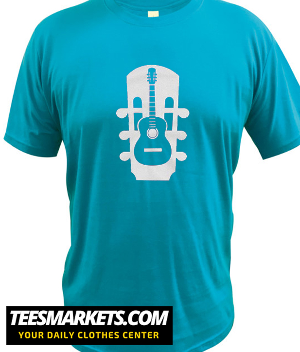 Acoustic Guitar Instrument Musical New   T Shirt