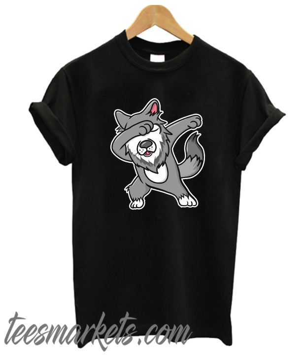 Dabbing Wolf New T Shirt