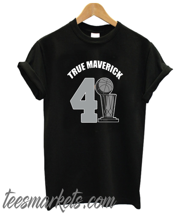 Dallas Mavericks Dirk True Maverick 41.21.1 New T-shirt