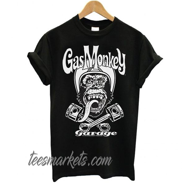 Gas Monkey Garage Officially Licensed Merchandise Biker Monkey New t shirt