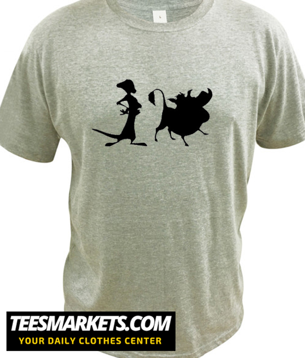 Timone and Pumba New T Shirt