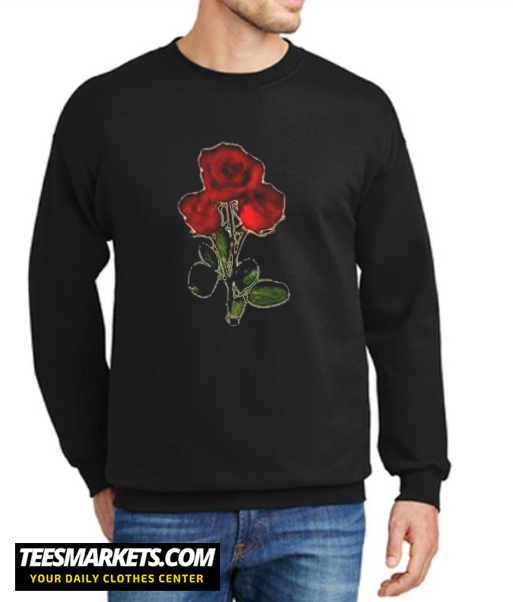 3 red rose New Sweatshirt