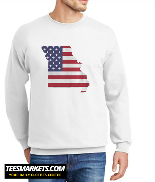 4th Of July Missouri New Sweatshirt
