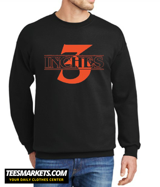 3 Inches Stranger Things New Sweatshirt