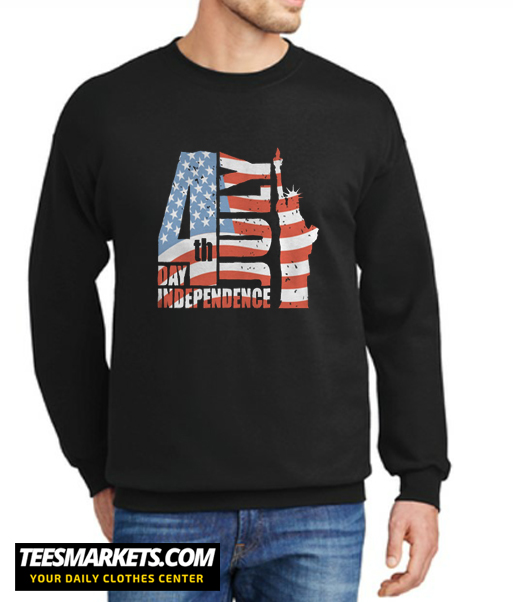 4th July Day Independence New Sweatshirt