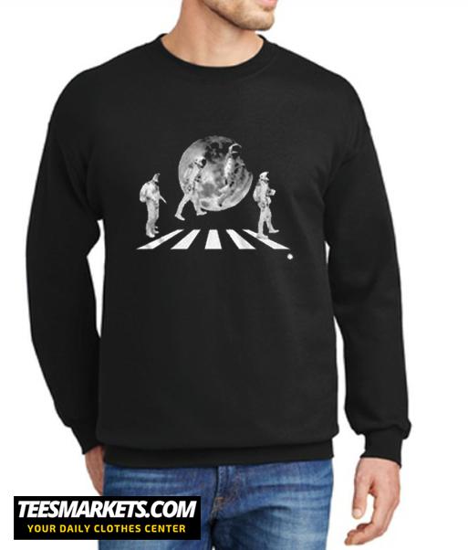 Men's Short Sleeve Astronaut Beatles New Sweatshirt