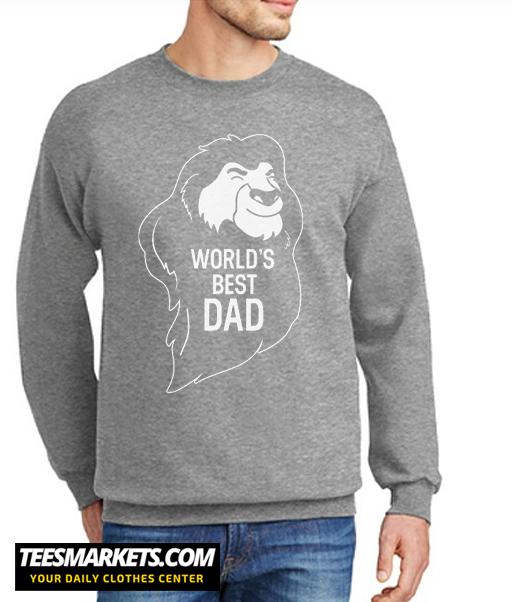 World Best Dad New Sweatshirt