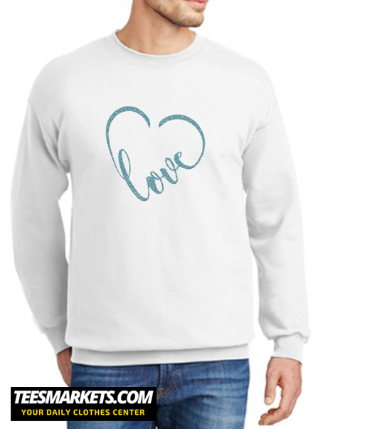 Love Heart New Sweatshirt