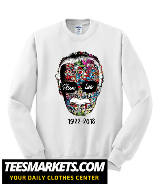 Stan Lee 1922 – 2018 New Sweatshirt