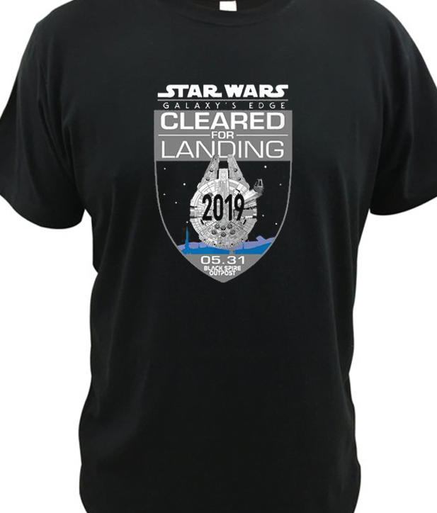 galaxy's edge New t shirt