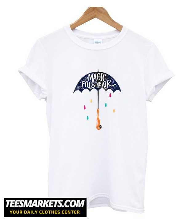 Disney Mary Poppins Magic Fills the Air T-shirtDisney Mary Poppins Magic Fills the Air T-shirt