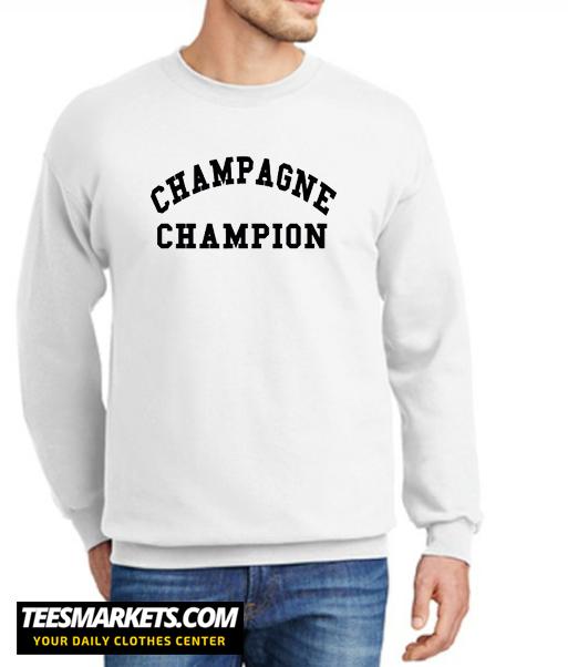 Champagne Champion New Sweatshirt