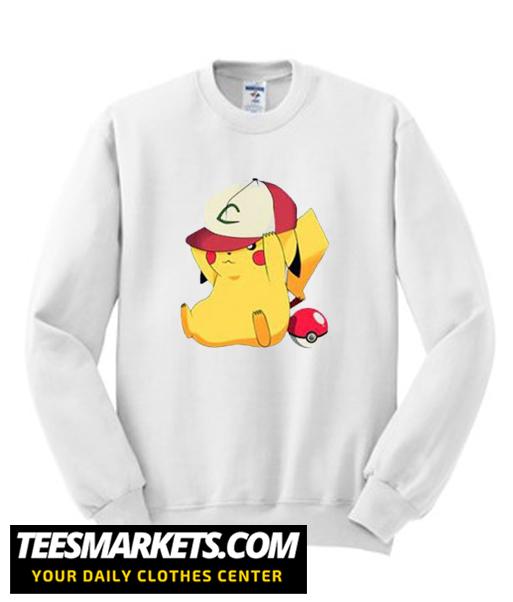 Cute Pikachu Anime New Sweatshirt