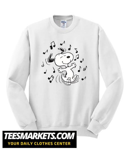Dancing Snoopy New Sweatshirt