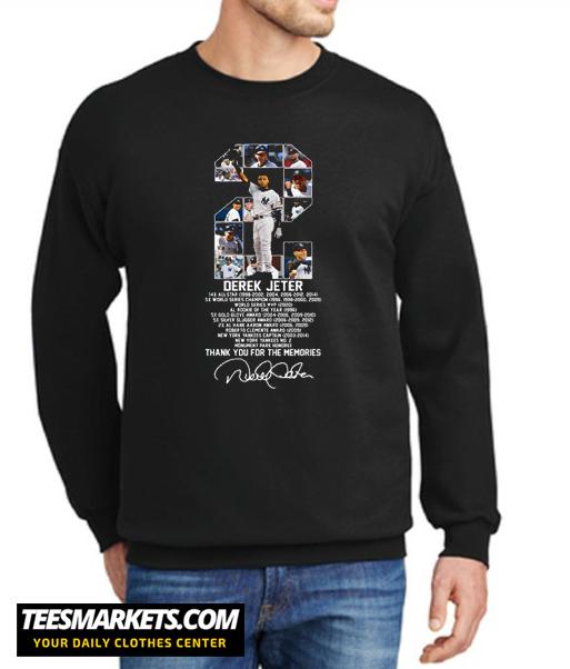 Derek Jeter Allstar World Series Champion World New Sweatshirt