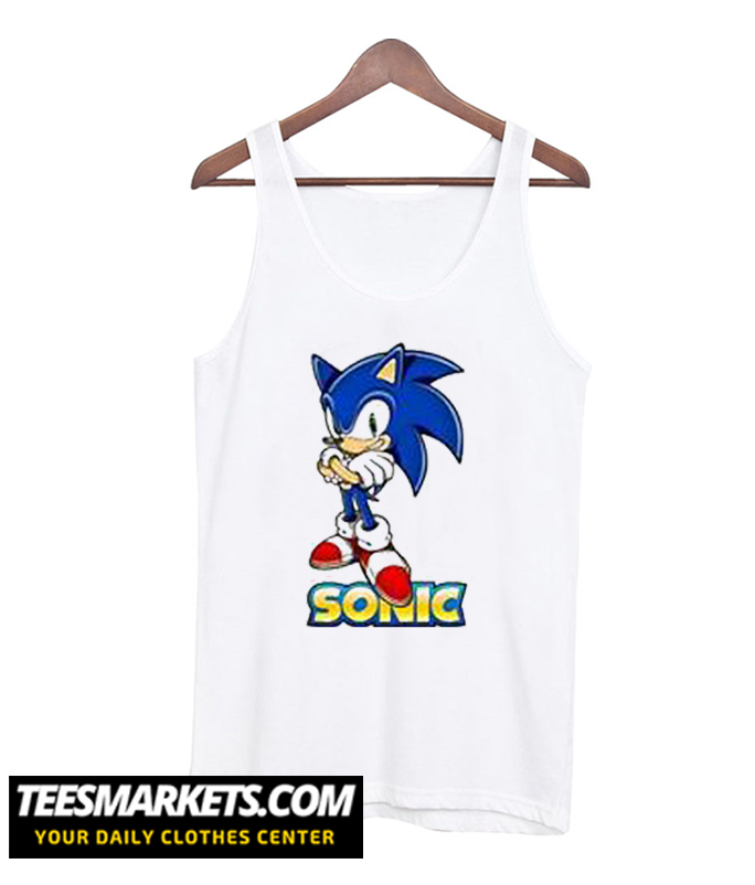 SONIC THE HEDGEHOG Tank Top
