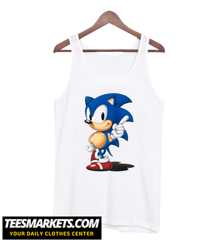 Sonic The Hedgehog Tank-Tops