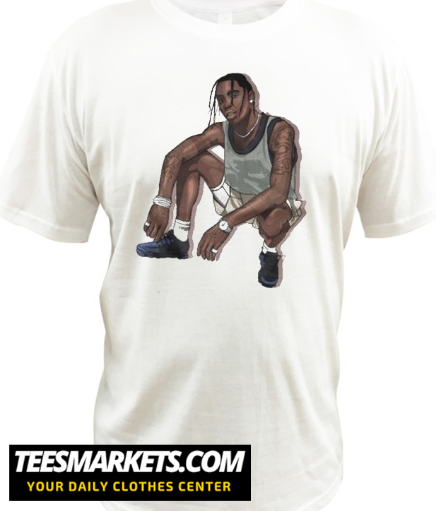 Travis Scott Rap New T-Shirt