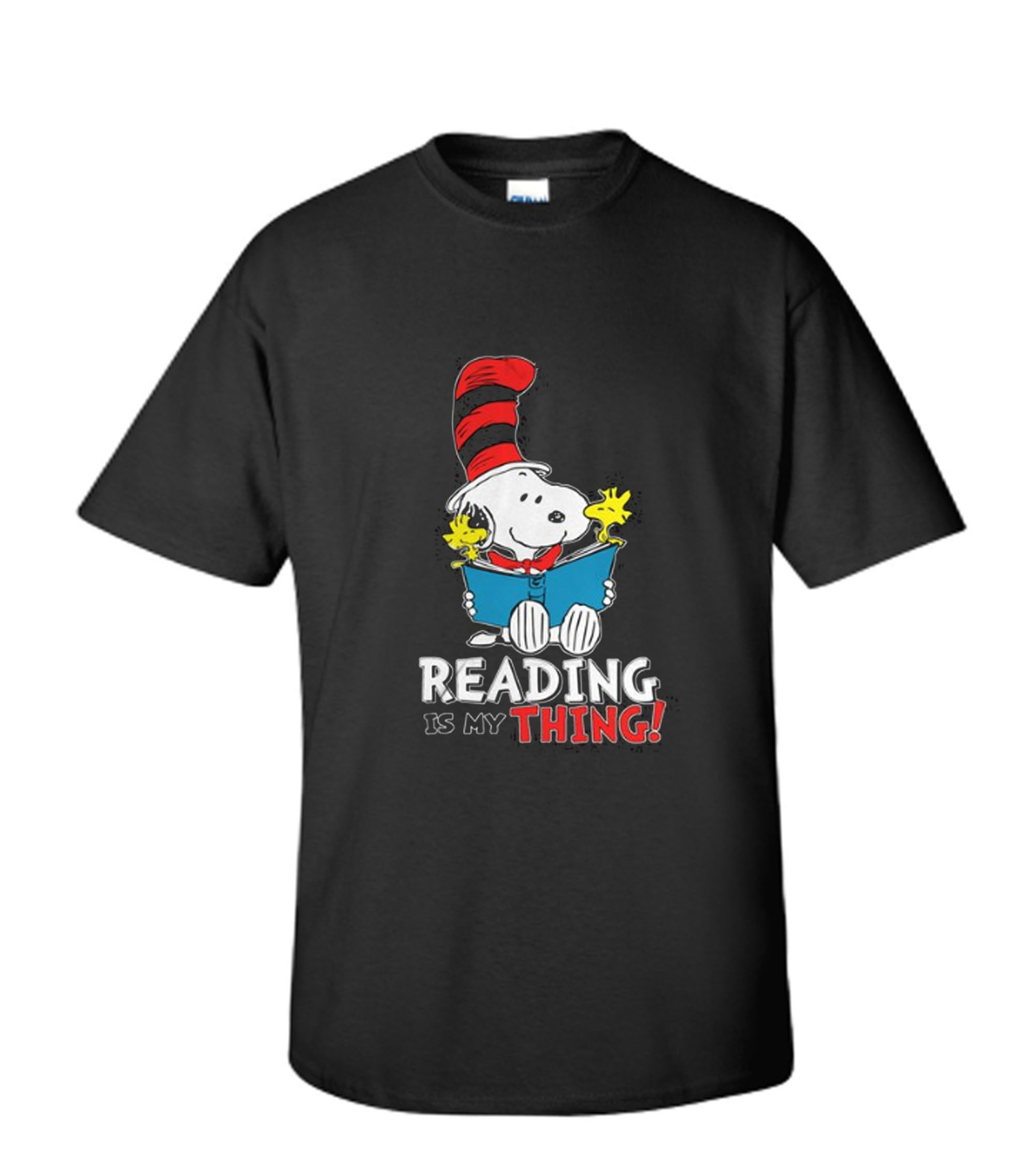 Reading Is My Thing - Snoopy T Shirt