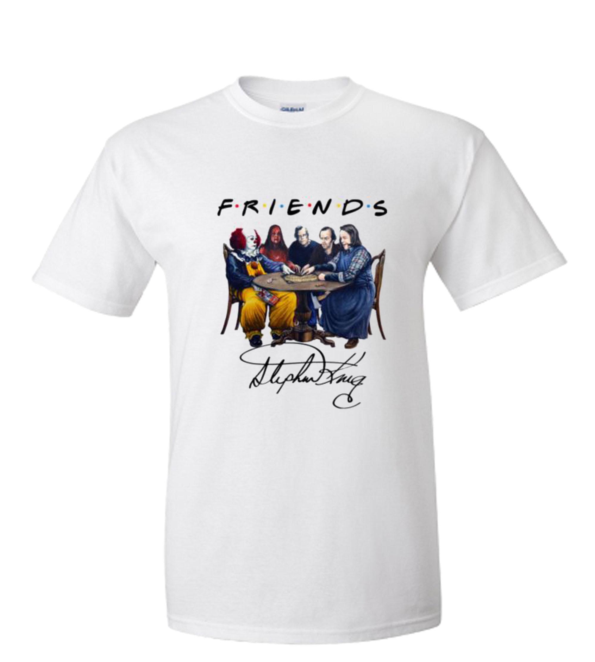 Stephen King Horror Friends RS T Shirt